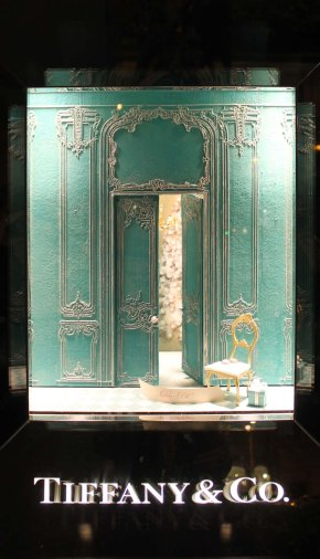 A little palace ….Tiffany's window display