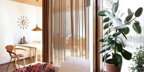 Beautiful Wood Curtain