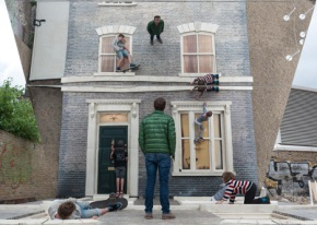 Visual illusions by Leandro Erlich